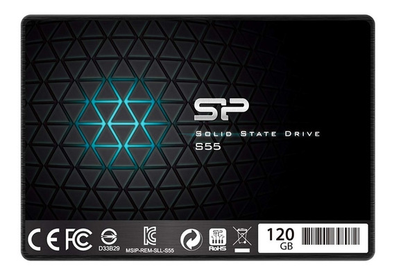 Disco Solido Silicon Power 120 Gb 5400 Gbps 420 Mb/s