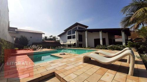 Casa Frente A Praia Com 4 Dormitórios À Venda, 296 M² Por R$ 1.100.000,00 - Estância Balneária De Itanhaém - Itanhaém/sp - Ca1658