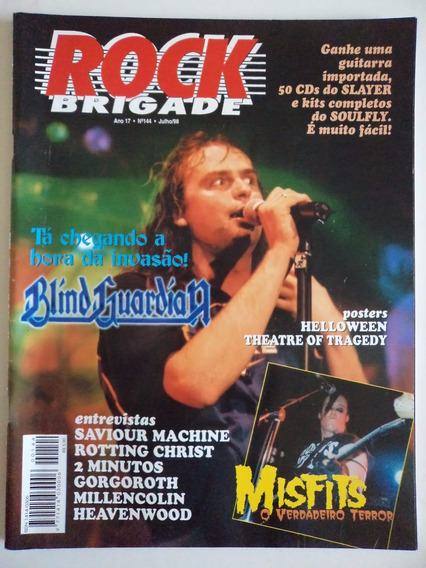 Revista Rock Brigade Ano 17 - N 144
