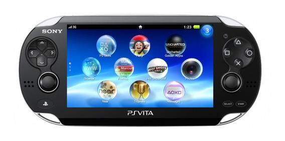 Ps Vita - Original Travado - Sony - Usado
