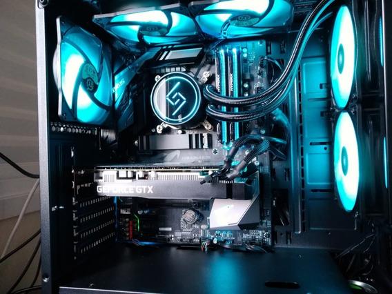 Pc Gamer Rgb Z390 Aorus 16gb Gtx 1660 Ssd M.2 Monitor 144hz