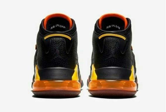 Tenis Nike Jordan Mars 270 Negro Y Amarillo