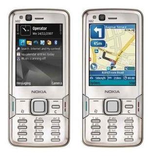 Nokia N82 5mp Carl Zeiss Gps Wifi Symbian Xenon Color Plata