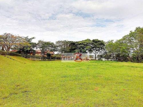Terreno À Venda, 1720 M² Por R$ 750.000,00 - Ville Chamonix - Itatiba/sp - Te0844
