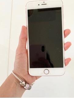 Celular, iPhone 6 Plus, Cor Rosa