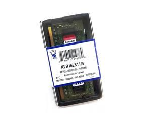 Memoria Notebook 4gb Ddr3 L 1600 Kingston 1.35 Low Voltage