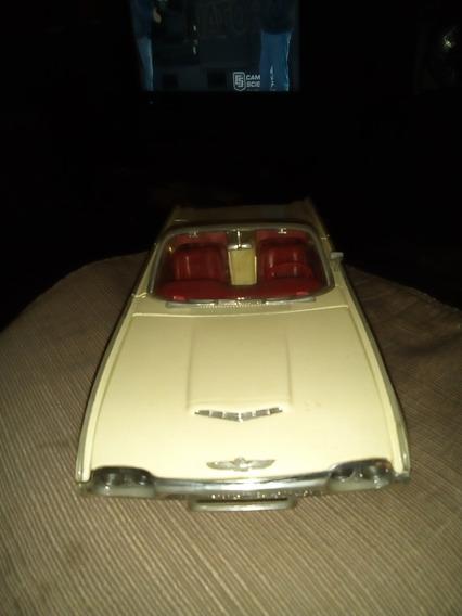 Ford Thunderbird Convertible 1963 Escala 1.18