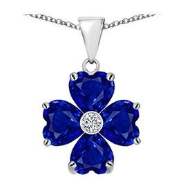 Colar Trevo De Azul - Glam00143