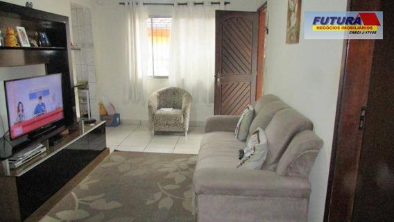 Casa Com 3 Dormitórios À Venda, 122 M² Por R$ 290.000,00 - Catiapoa - São Vicente/sp - Ca0417