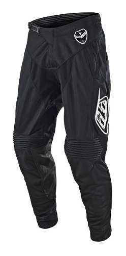 Pantalon Motocross Troy Lee Se Air Solo Negro