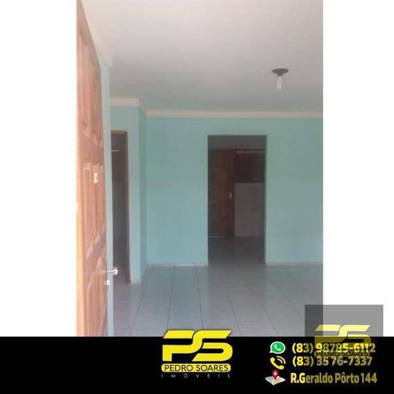 Casa Com 2 Quartos À Venda, 46 M² Por R$ 100.000 - Planalto Boa Esperança - João Pessoa/pb - Ca0305