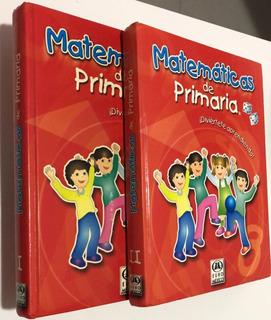 Libro Matemáticas De Primara ¡diviertete Aprendiendo! 2 Vol