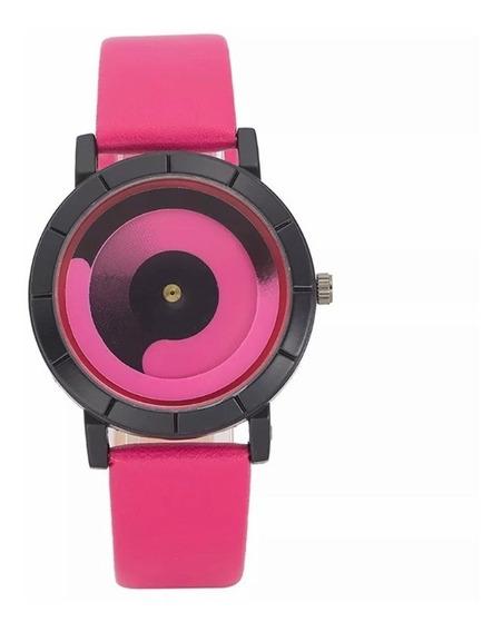Reloj Futurista Colores Neón Unisex Moda