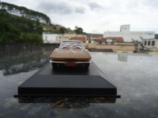 Miniatura De Veiculo Corvette Stingray 1934 Escala 1;43