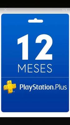 12 Meses De Psn Plus Playstation 4, Leia A Descrição