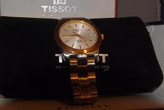 Tissot Original Para Hombre Mod Pr50 Acero Y Oro