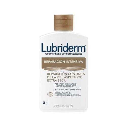 Imagen 1 de 2 de Crema líquida Lubriderm Reparación Intensiva en botella 400ml
