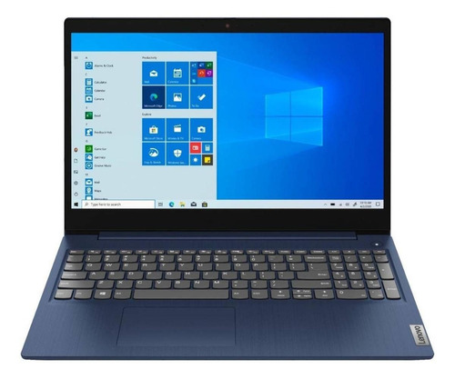 "Imagen 1 de 7 de Notebook Lenovo IdeaPad 15IML05  abyss blue táctil 15.6"", Intel Core i3 10110U  8GB de RAM 256GB SSD, Intel UHD Graphics 620 1366x768px Windows 10 Home"