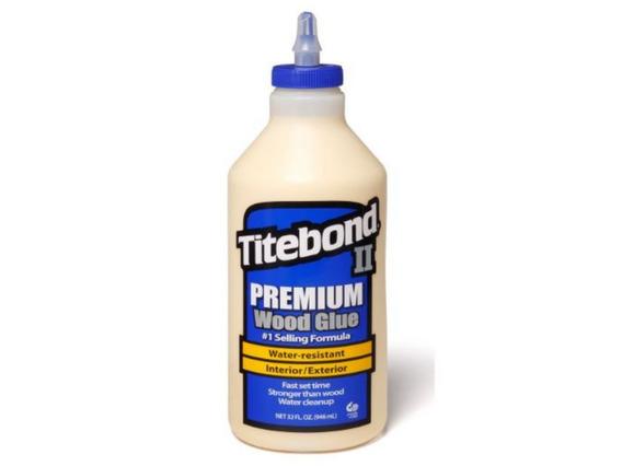 Cola Para Madeira Il Premium Wood Glue Titebond 946 Ml
