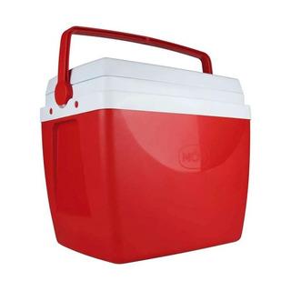 Caixa Térmica Com Alça De Mão 34 Litros Mor Vermelho