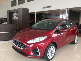 Ford Fiesta Se At Anticipo-ctas De 12 A60-entrega Inmediata