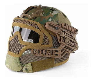 Capacete Airsoft Emerson Gear G4 Full Mask Todas As Cores