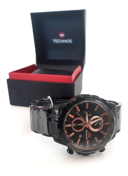 Relógio De Pulso Amarok V6 Preto Apr057004fk