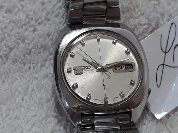 Relógio Seiko 6119, Masculino, Lindo, Anos 70 (bra) !