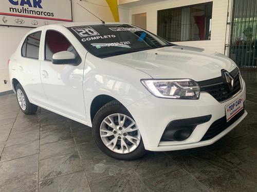 Renault Logan 1.6 Zen Carro Sem Entrada Aplicativo Zero Km