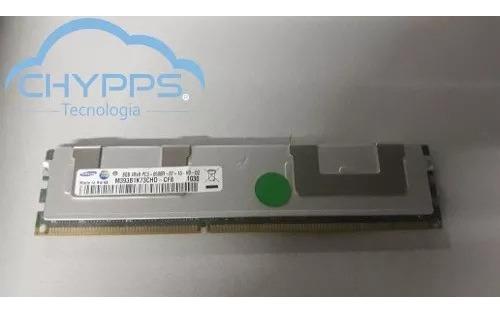 Memória Ecc Samsung 8gb 4rx8 Pc3-8500r-07-10-h0-d2