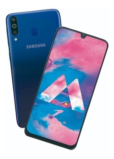 Samsung Galaxy M30 64gb+4ram Triple Camara Garantia Samsung 100% Nacional Uso En Mexico