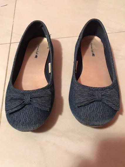 Zapatos Zapatillas Toreritas Americana Eagle Talla 33