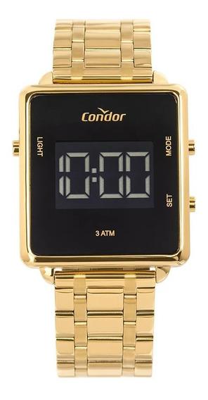 Relógio Condor Feminino Digital Trendy Dourado Cobjf156aa/4d