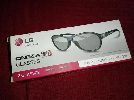 2 Óculos Cinema 3d Lg Original
