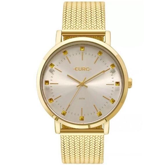Relógio Feminino Euro Eu2035ymz/4d Spike Illusion Dourado