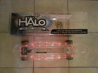 Patineta Halo Retro Con Iluminación + Envío Gratis