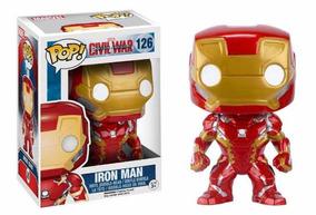 Homen De Ferro - Capitão América: Guerra Civil - Funko Pop!
