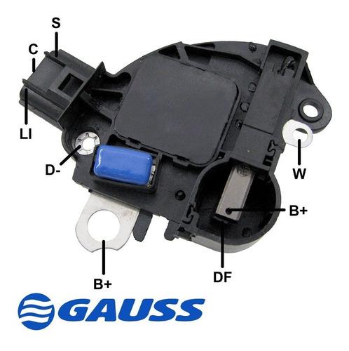 Imagem 1 de 1 de Regulador Voltagem 14v Magneti Marelli Ford Vw Cummins