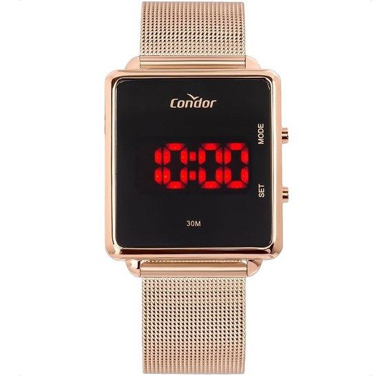 Relógio Feminino Condor Digital Cojhs31bab/4j