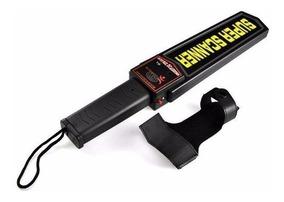 Detector De Metais E Armas Manual - Segurança Metal Scanner