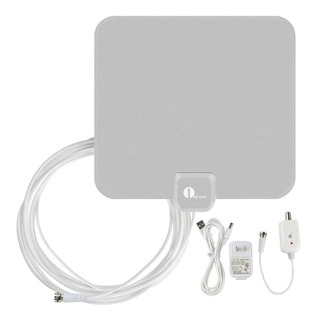1byone Amplificado Antena Hdtv 1080p Vhf Uhf Fm Interio-2926