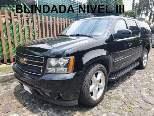 Chevrolet Suburban 2008 Blindada, Blindaje Nivel Iii