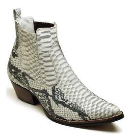 e665723aefe3b Sapato Masculino Verniz Colorido - Botas Masculinas Branco com o ...