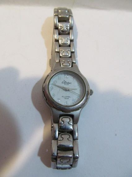 Relógio Condor Plus All Steel Caixa 25mm