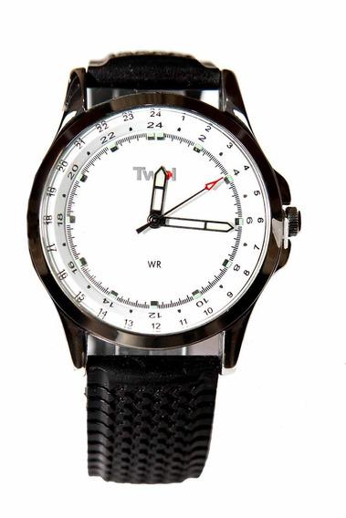 Relógio Masculino Preto Twik By Seculus Alfa