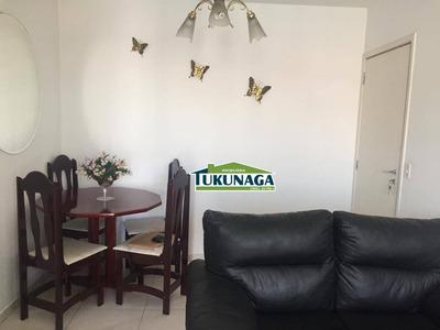 Apartamento Com 2 Dormitórios Para Alugar, 53 M² Por R$ 1.250/mês - Macedo - Guarulhos/sp - Ap2261