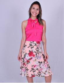 Blusa Feminina Voga Plus 7364 - Asya Fashion
