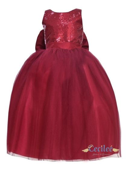 Vestido Hermoso De Fiestas Niña Exclusivo Leslie