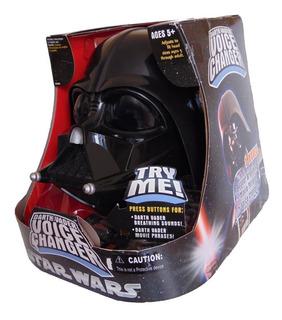 Star Wars Darth Vader Casco Electrónico De 2 Piezas Hasbro