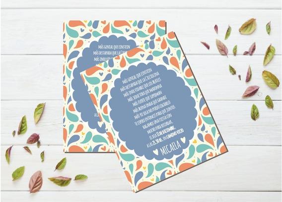 Invitacion Tarjeta 15años Casamiento Imprimible Personalizad